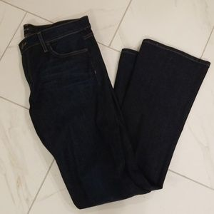 Dark Skinny Bootcut Denim